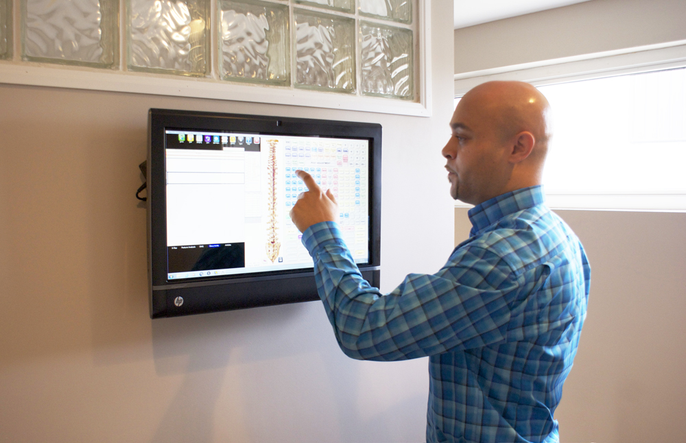 Touch Screen Monitors - Solid Foundation Chiropractic