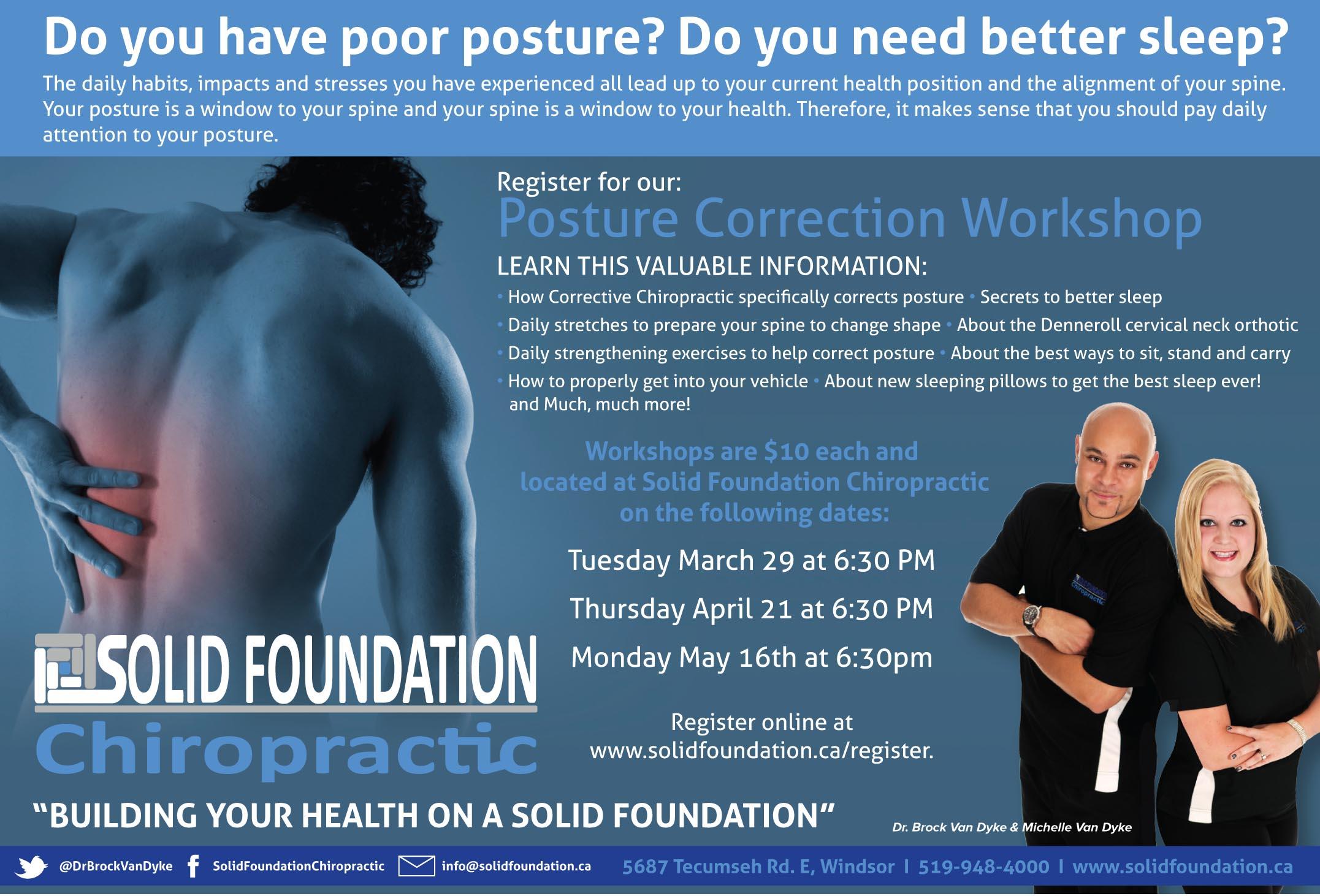 Posture Correction Workshop